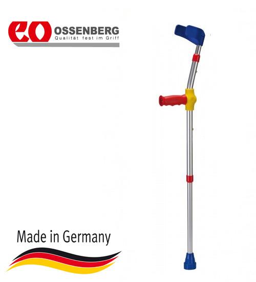"""Купить Подлокотный костыль для детей Ossenberg Kiddy Line, регулируемый по высоте подлокотник, цвет """"комби"""", макс."""