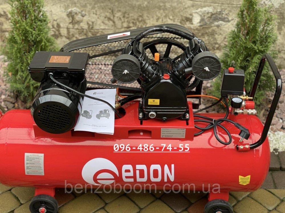 Купить Компрессор воздушный ременной Edon OAC-100/2400 2.4кВт 440л/мин