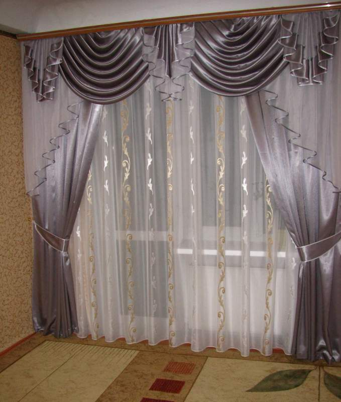 где в красноярске заказать шторы с ламбрекеном фото каталогов