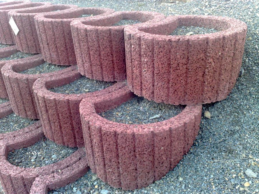 цветники и клумбы из бетона купить