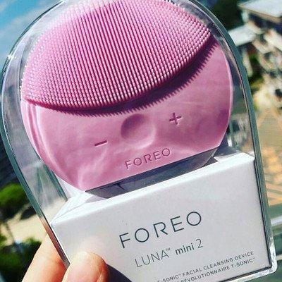 Купить Электронная щетка для чистки лица Foreo Luna mini 2- массажёр Форео ПУДРА