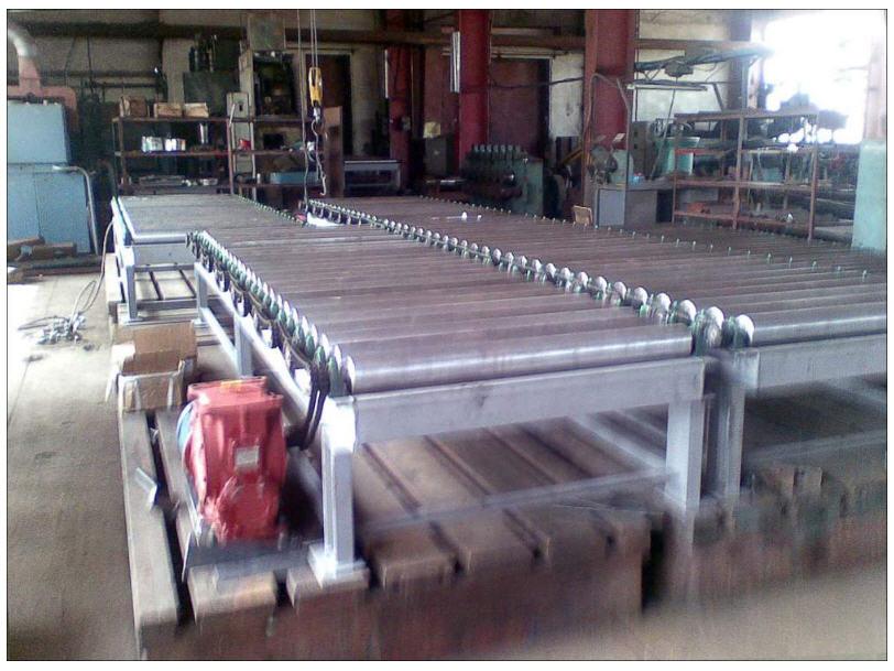 Рольганговый транспортер производство роликов конвейера