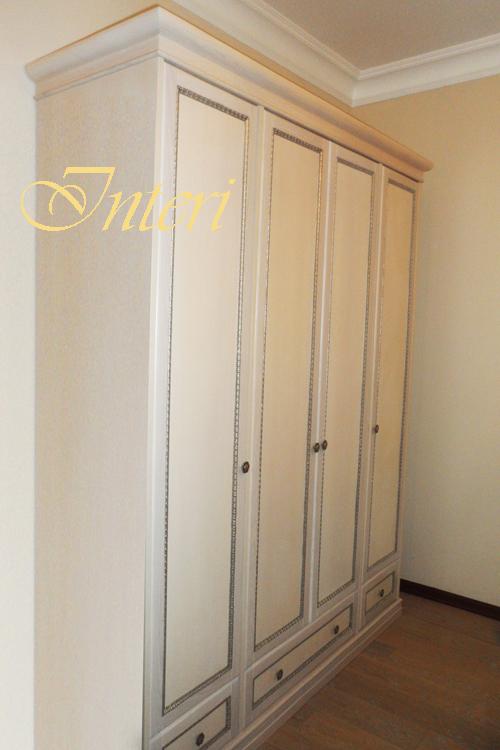 Белый шкаф  киев