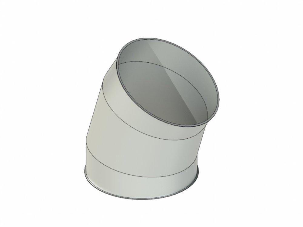 Купить Отвод 30° P-BD 400/30°