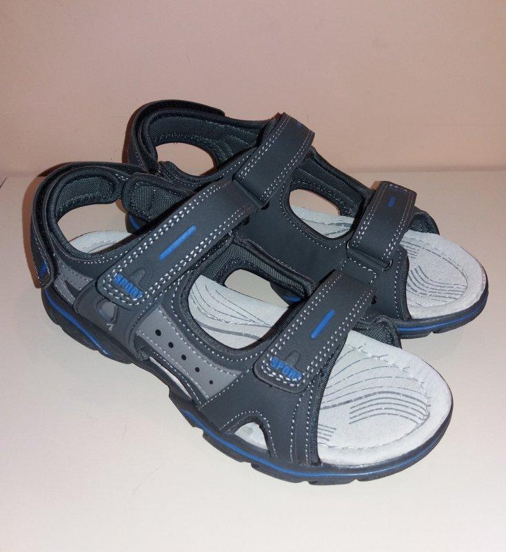 Купить Босоножки сандалии для мальчика р.36 Серый