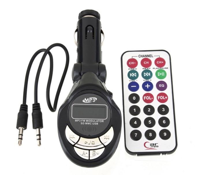 Купить Трансмиттер FM модулятор автомобильный Sertec FM-129 black