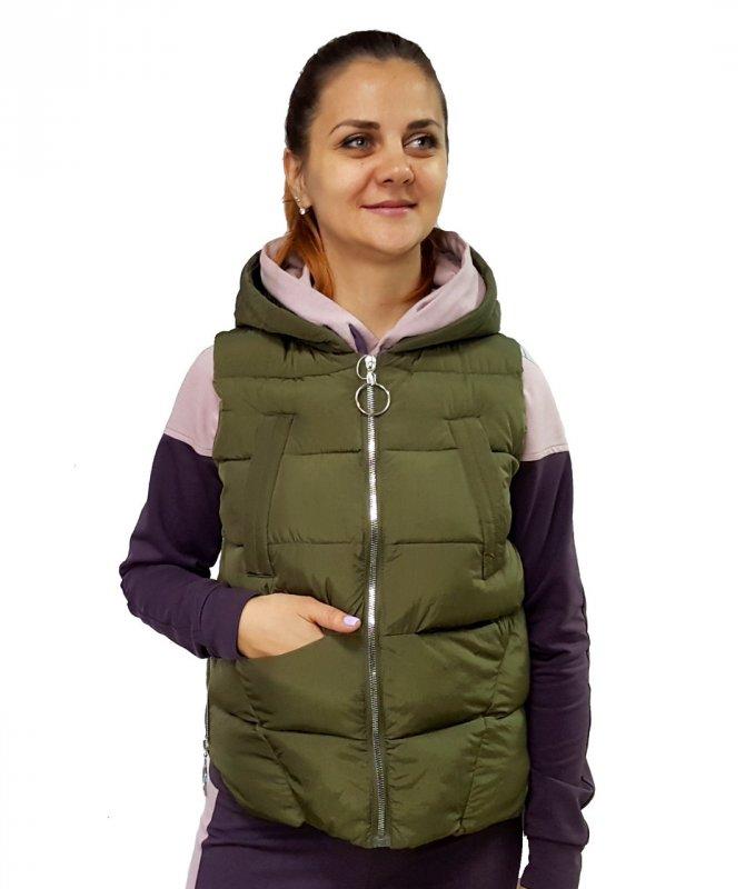 Купить Женская короткая жилетка
