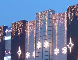 Купить Занавес световой фигурный King Lite, новогоднее оформление фасадов