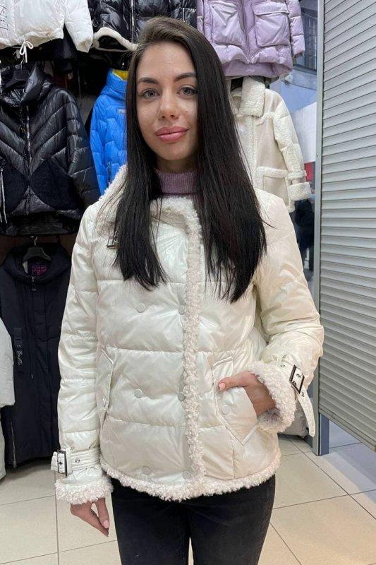 Купить Стильная куртка пилот Vivilona (Max Mara) 162 цвет белый L