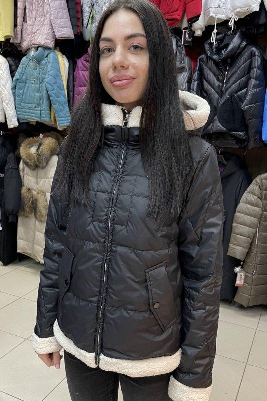 Купить Куртка женская Vivilona (Max Mara) 019 цвет черный XL