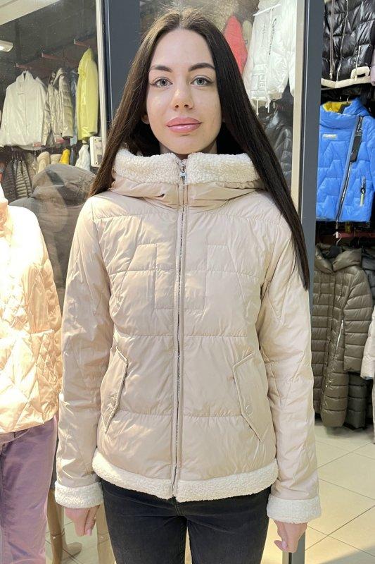 Купить Куртка женская Vivilona (Max Mara) 019 цвет бежевый