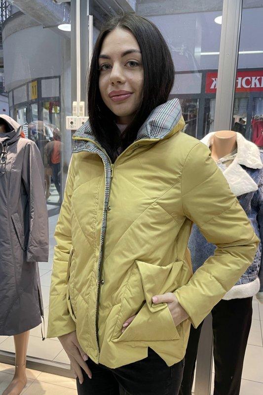 Купить Куртка женская Vivilona (Max Mara) 801 цвет горчичный S