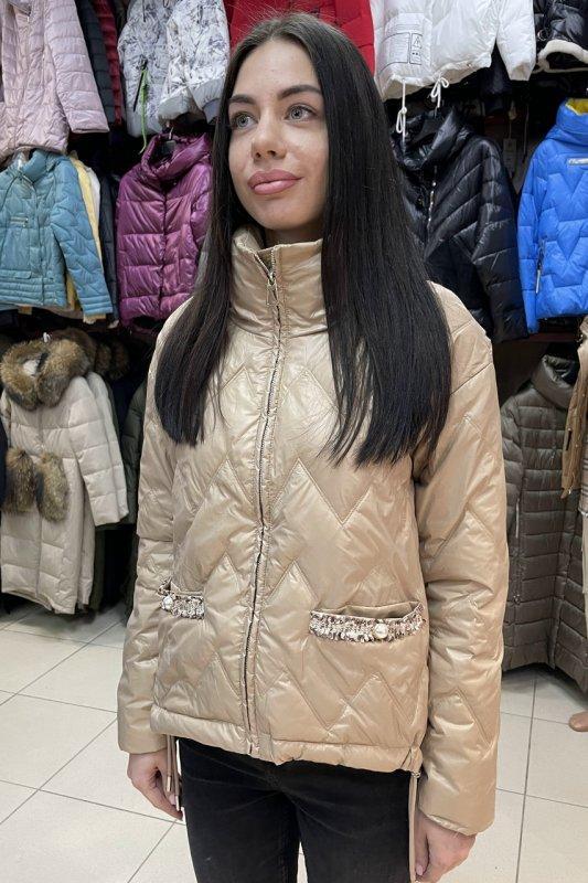 Купить Короткая куртка Vivilona (Max Mara) 086 цвет бежевый