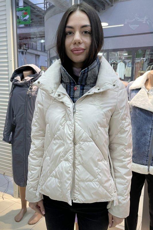 Купить Стильная куртка Vivilona (Max Mara) 6613 цвет белый XL