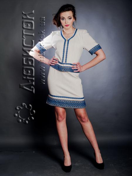 Вишитий модний жіночий костюм ЖК 63-30 62e4de2554a08