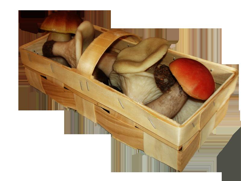 Купить Корзинка для грибов 1кг
