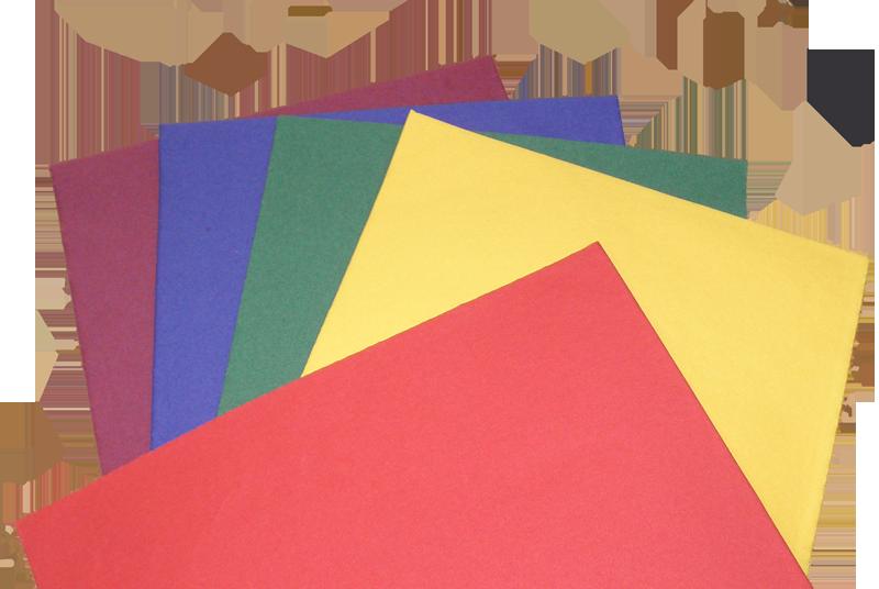 Бумага-основа для гигиенических изделий глубоких тонов