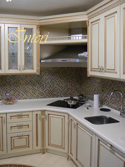 кухня белая угловая купить в киеве