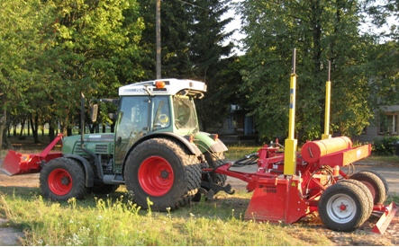 Купить Планировщики почвы с двойным лазерным управлением