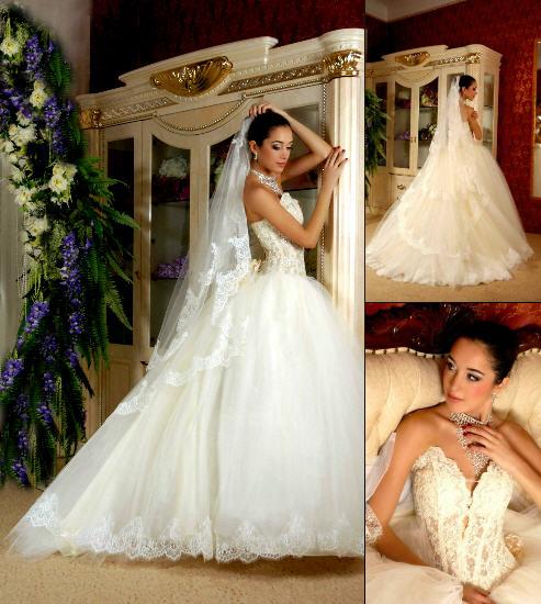 Плаття весільні купити в Київ bdee156b263ff
