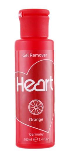 """Купити Жидкость для снятия гель-лака \""""Апельсин\"""" Heart Germany Gel Remover Orange 100мл"""