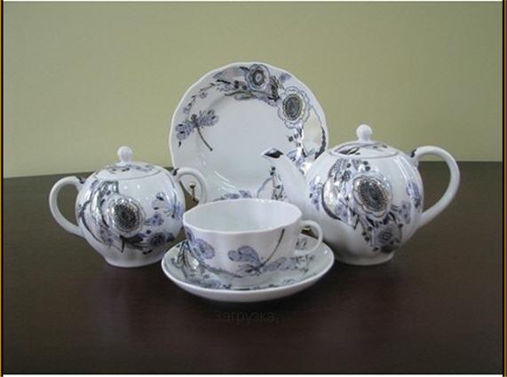 Купити Сервіз із порцеляни чайний Шепіт бабки