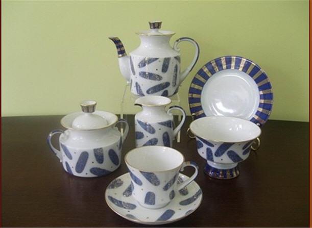 Купити Сервіз чайний Штучки, імператорська порцеляна