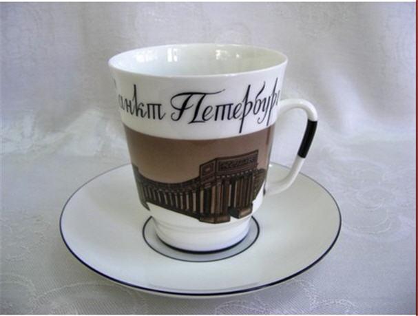 Купити Чашка порцелянова До побачення, Санкт-Петербург 2