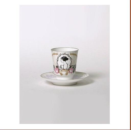 Купити Чашка із блюдцем порцелянові Присвята Ганні Андріївні