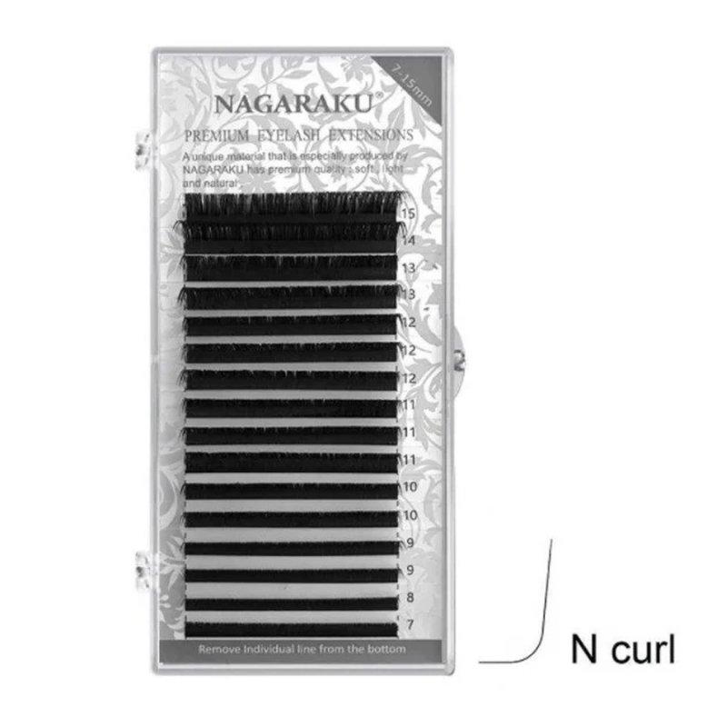 Купить Ресницы Nagaraku (Нагараку) MIX 0.07N (M)