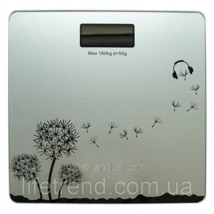 Купить Электронные напольные весы Domotec WH-1604 до 180 кг СЕРЫЕ