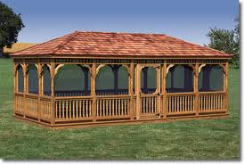Купить Беседки деревянные от производителя