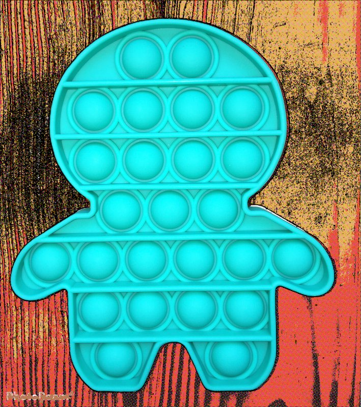 Купить Игрушка Антистресс Push POP It Bubble Famly Games пузырчатый ПОП ит Человечек