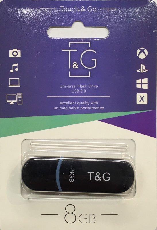 Купить Флеш драйв T&G Flash Draiv (USB/ 8GB/ 2.0)