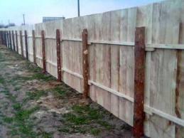 Купить Деревянные заборы для дачи