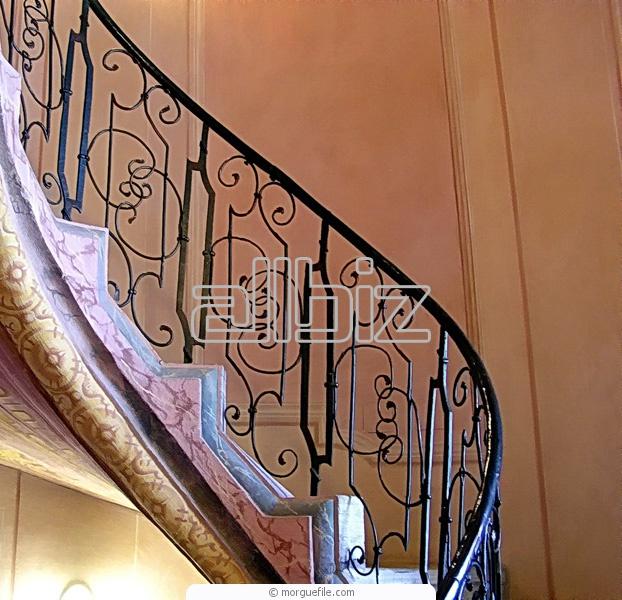 Купить Лестницы винтовые кованые