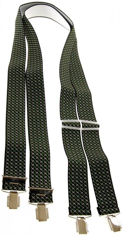 Купить Мужские подтяжки для брюк KWM, Германия 110 на 3,6 см 550007