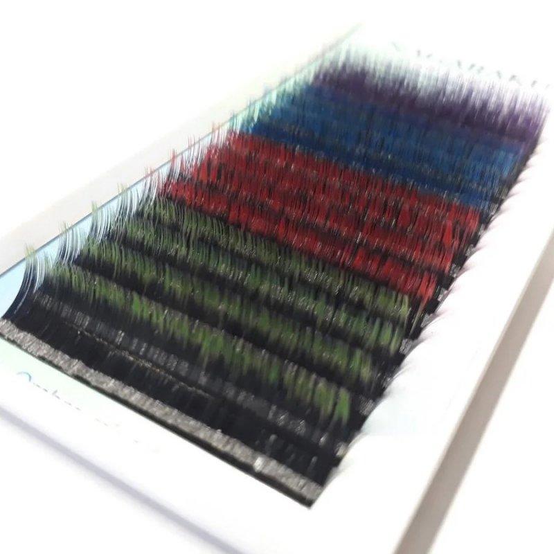 Купить Ресницы Nagaraku (Нагараку) 0.07D длина 12мм 4цвета