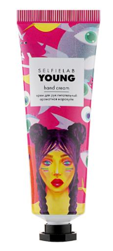 """Купить Крем для рук питательный """"Ароматная маракуйя"""" Selfielab Young Hand Cream"""