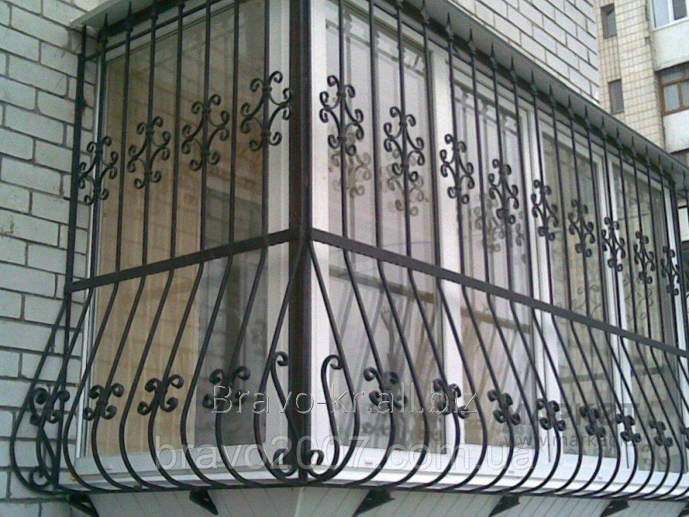 Купити Грати балконні
