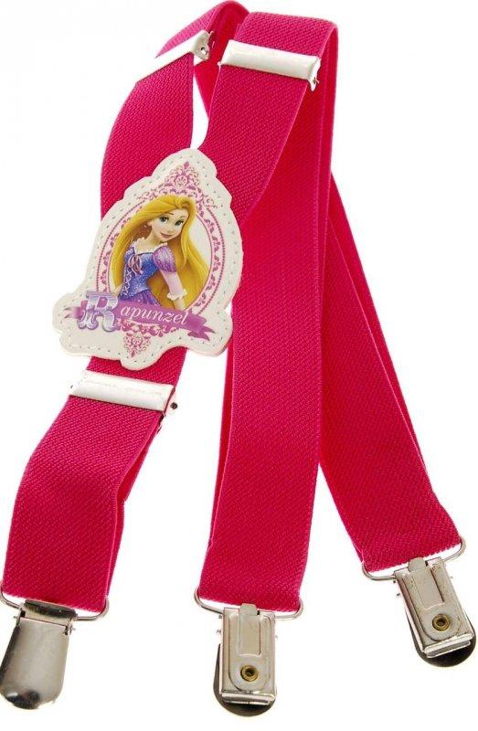 Купить Подтяжки детские для девочки розовые KWM Rapunzel 60 на 2,5 см