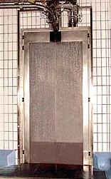 Морозильные распашные двери из нержавеющей стали типа WT-2M, двери морозильные распашные