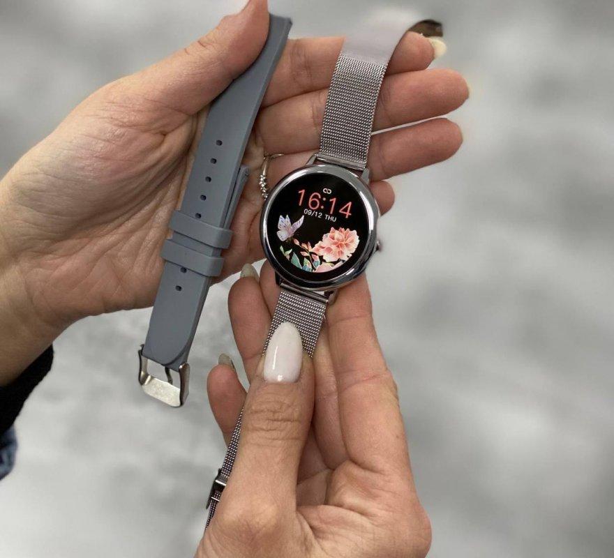 Купить Женские смарт-часы Smart Watch Max Robotics CF-80 для нежных женских ручек Серый