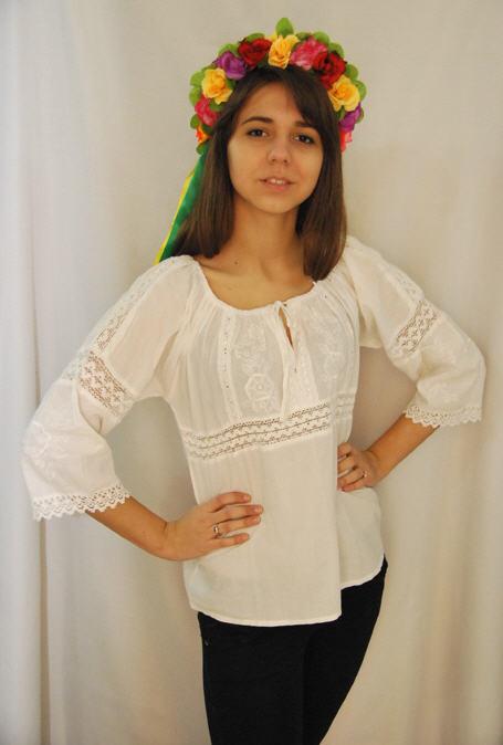 Вышитые сорочки женские