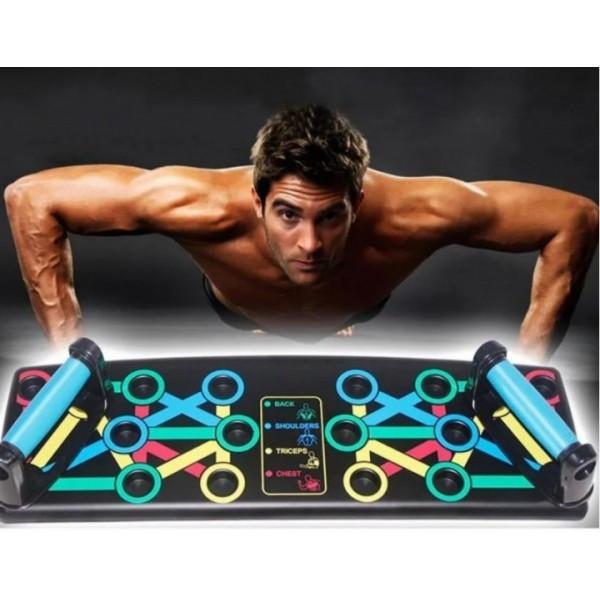 Купить Платформа для отжиманий Iron Gym Push Up Rack Board 14в1 Доска переносной тренажер для упражнений