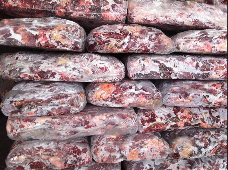 В Смоленске забраковали 7 тонн замороженной говядины из Беларуси