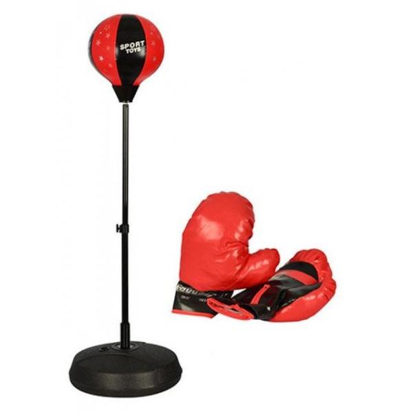 Купить Боксерская груша на стойке и перчатки набор Profi Boxing MS 0332