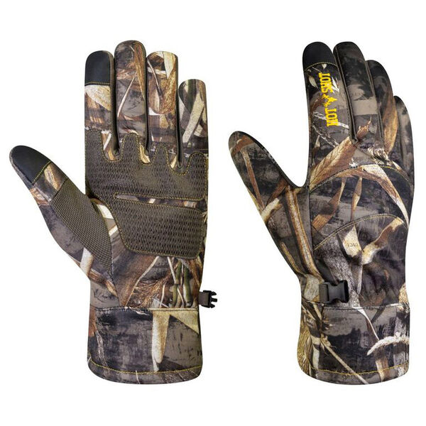 Перчатки для охоты демисезонные Hot Shot Men's Swiftstrike Camo Glove Realtree MAX-5