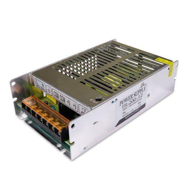 Купить Блок питания Biom для светодиодной ленты негерметичный 200W 12V 16.5A серии TR-200-12