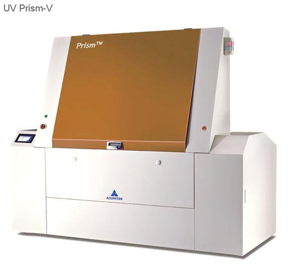 Вертикальная система загрузки пластин UV Prism-V